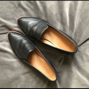 Madewell leather loafers